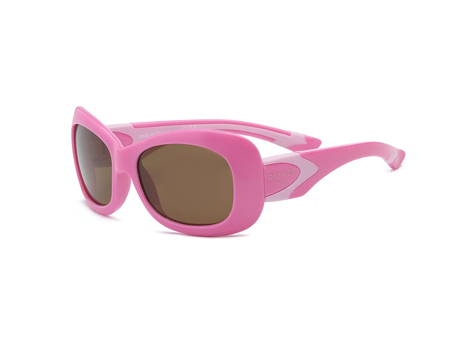 Real Kids Shades Breeze Flex Fit con policarbonato/occhiali da sole polarizzati rosa pink 7 7BREPKPKP2
