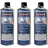 Husqvarna XP Pre-Mixed Fuel and Engine Oil Quart (3 Pack),Blue