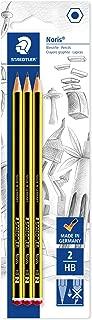 Staedtler Noris 120-2BK3DA. Lápices de Madera Certificada.