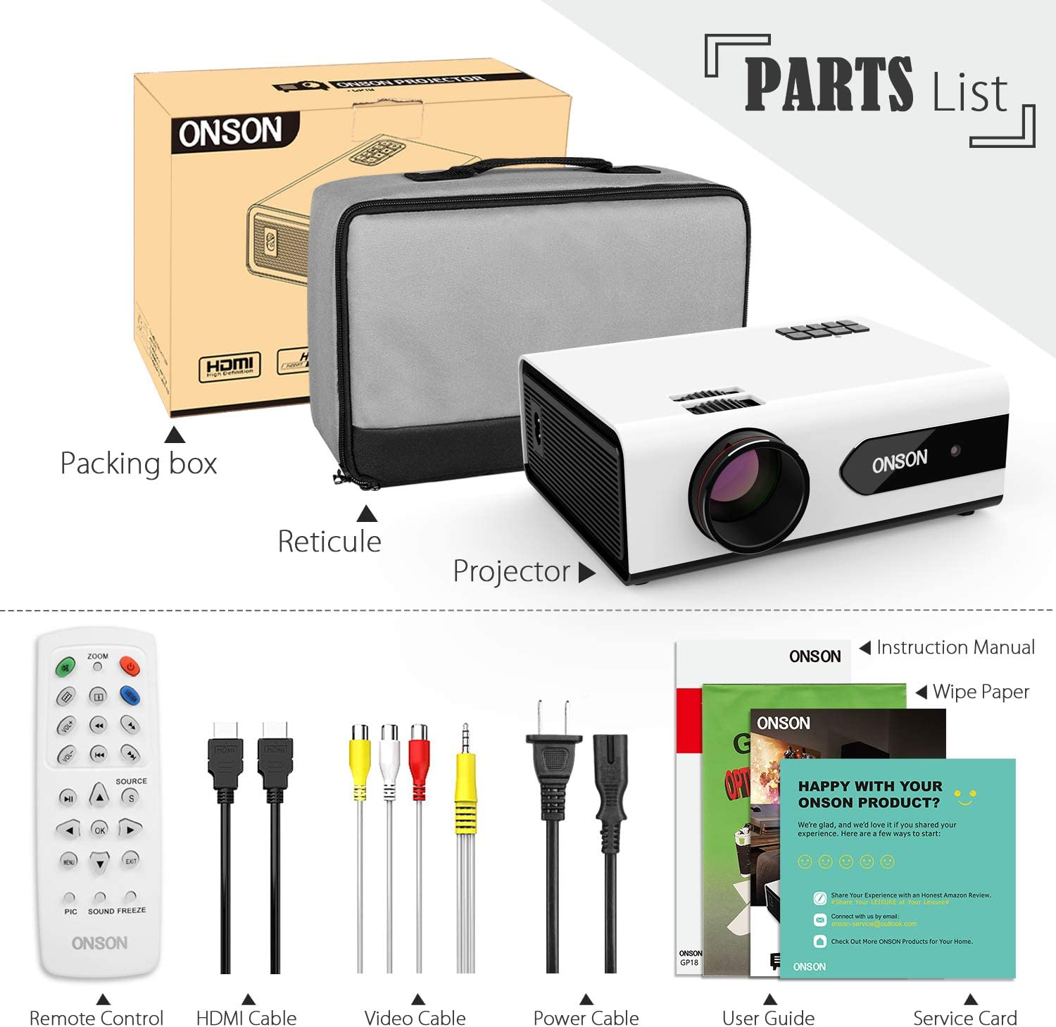 Amazon coupon code for Mini Projector 2800 Lux Portable Movie Projector