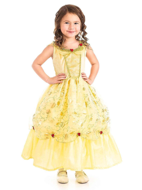 Yellow Beauty Costume Dress