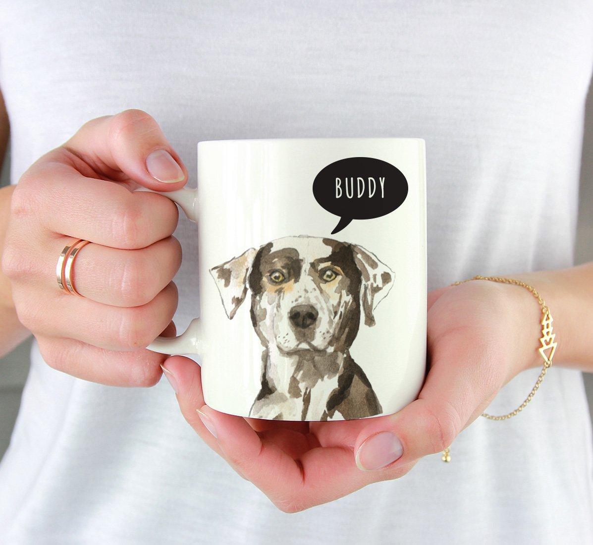 Pet Animal Lover Birthday Christmas Gift for Her Family 1-Pack Pomeranian Up Close Dog Coffee Mug Gift Andaz Press 11oz