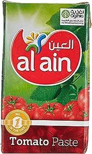 Al Ain Tomato Paste Tetrapack - 135 g (7+1) promo