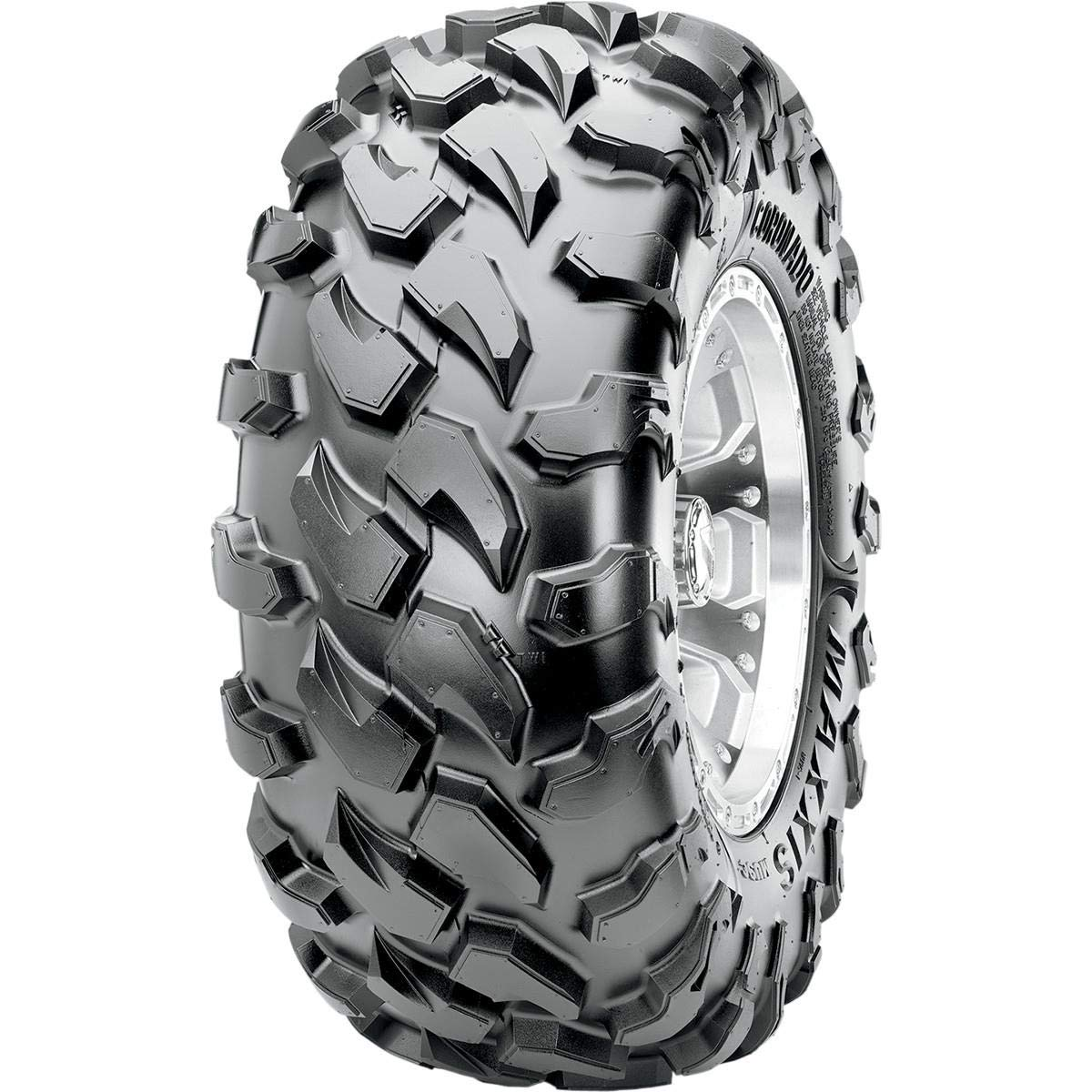 Maxxis MU9C Coronado Rear Tire - 27x11R14, Position: Rear, Rim Size: 14, Tire Application: Intermediate, Tire Size: 27x11x14, Tire Type: ATV/UTV, Tire Construction: Radial, Tire Ply: 8 TM00842100 4333407703