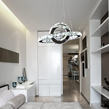 OOFAY LIGHTR LED 36W Modern Crystal Chandelierart Chandelierring Simple Dining