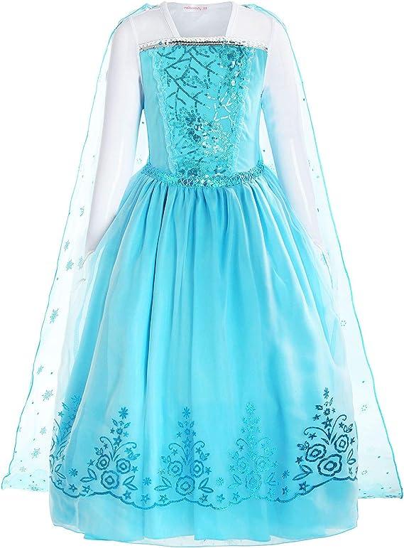 Amazon.com: ReliBeauty las niñas princesa disfraz de ...