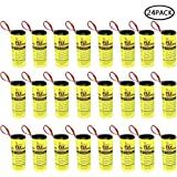 Pawaca 24 Mosca Atrapasueños Ruedas, Trampa Atrapamoscas para Moscas, Atrapa Mosquitera, Fly Control Trap para Mosquitos, Polillas para Interiores o Exteriores - Ecológico 100% No Tóxico