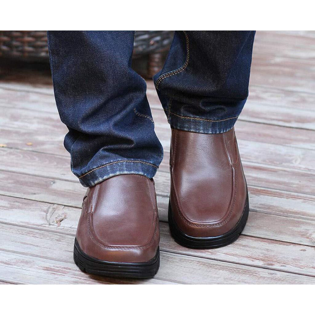 Black//Brown Color : Brown, Size : 39 EU zxcvb Mens Leather Oxford Shoes Wedding Shoes Lace up Cap Tuxedo Formal Dress Shoes