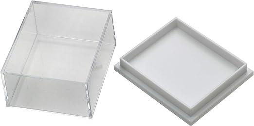 Minerales, fósiles y caja de coleccionista de cristal - 30 cablefinder: CrystalAge: Amazon.es: Hogar