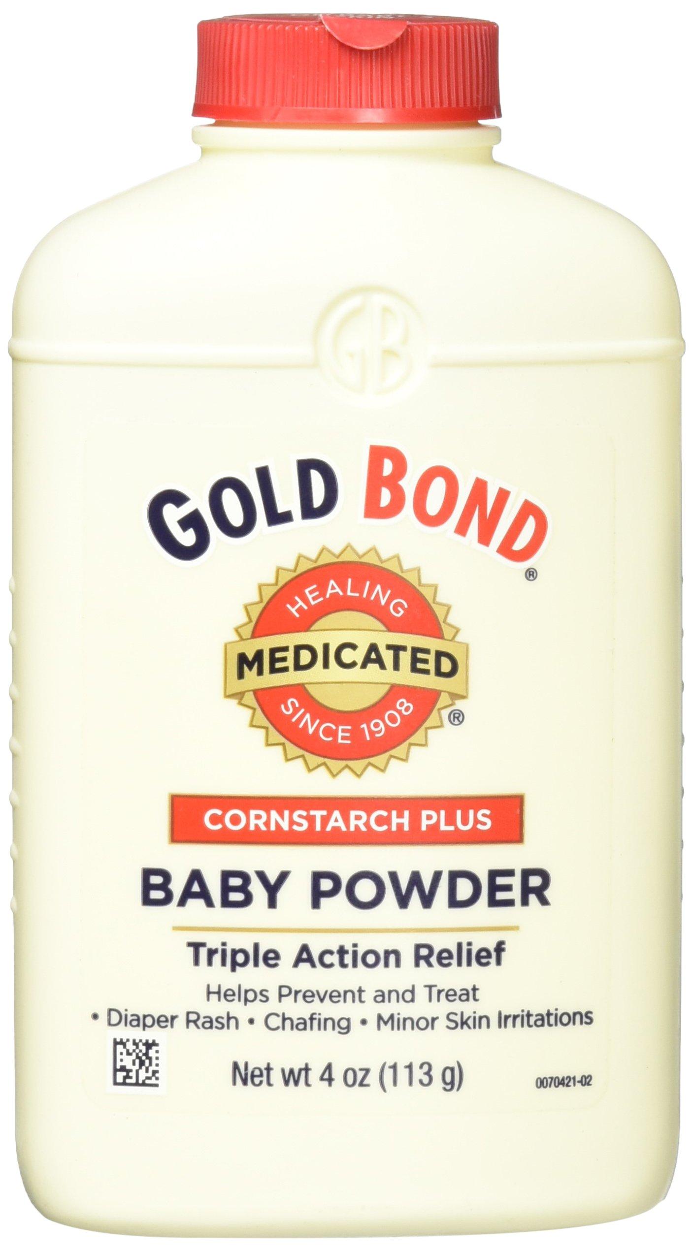 Gold Bond Cornstarch Plus Baby Powder, 4 oz.