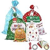 Amazon.com: Papá Noel Navidad bolsa de regalo, 1: Health ...
