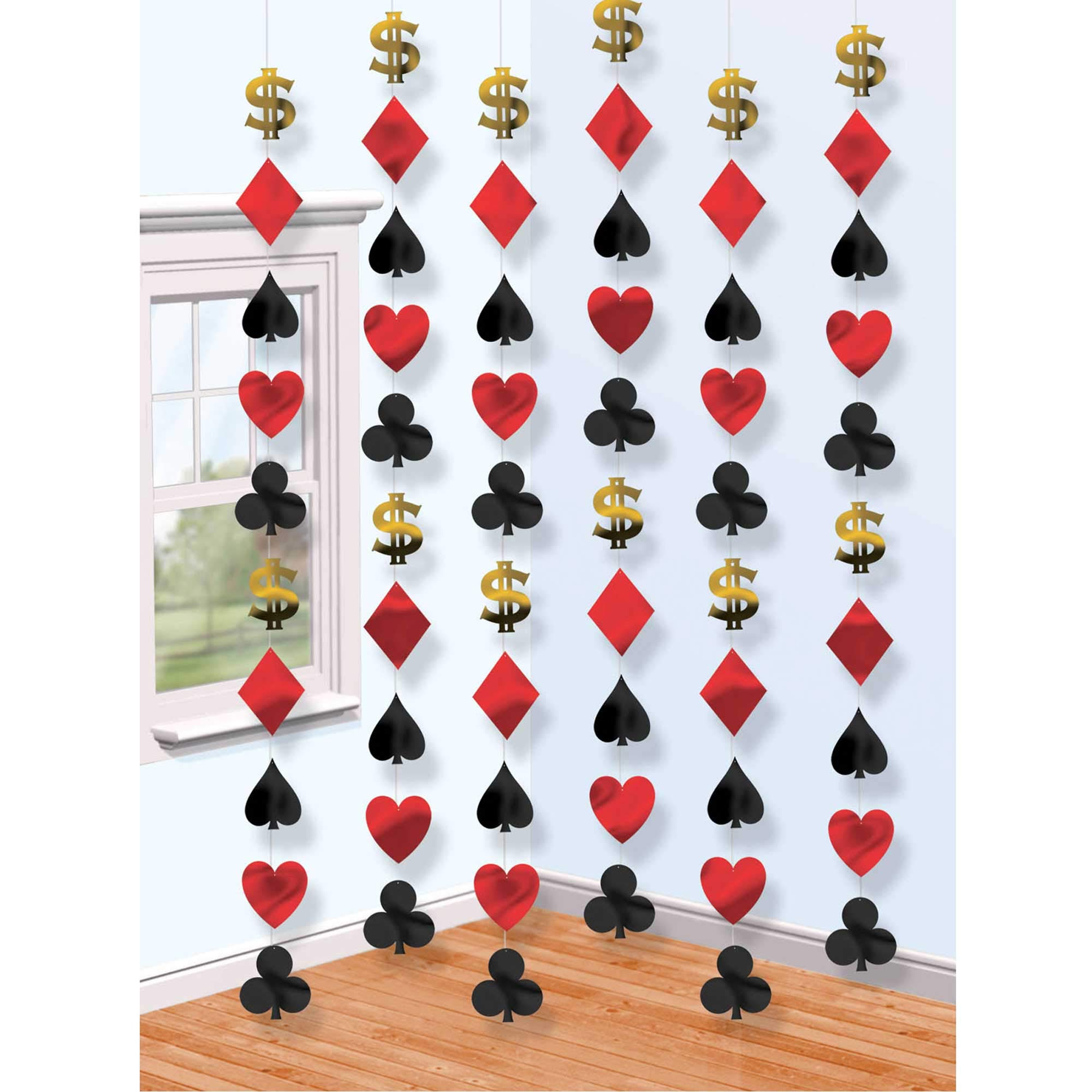 Amscan String Party Decorations, 7ft, Multicolor