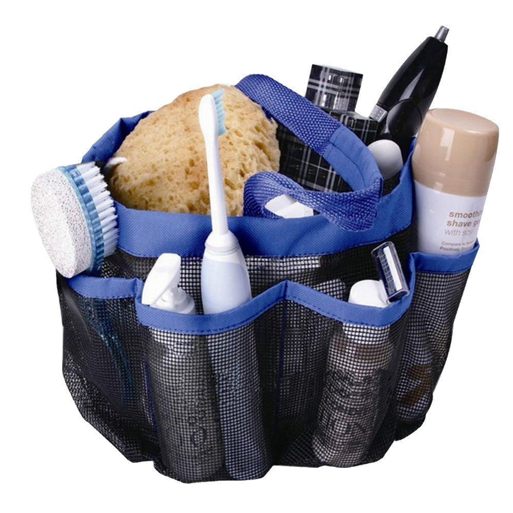 Amazon.com: TracyTrends Shower Caddy - Waterproof Mesh Storage Tote ...
