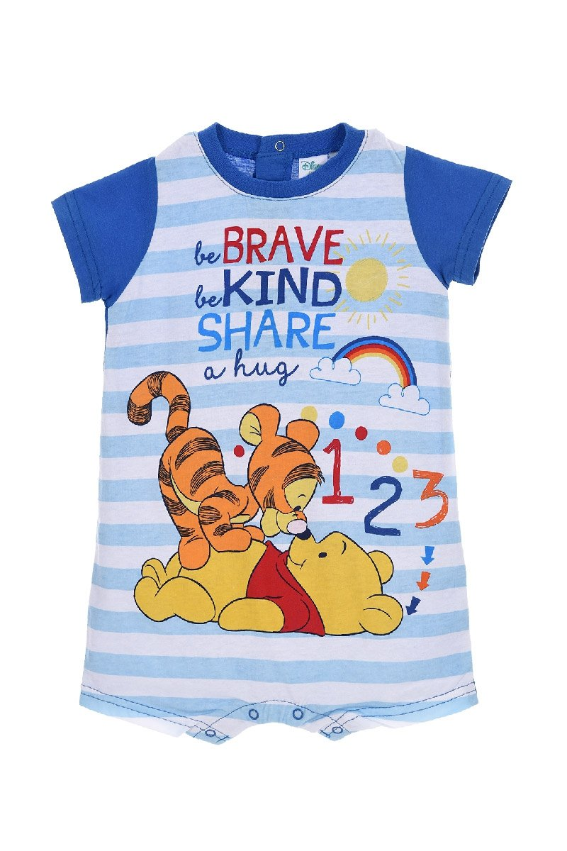 Amazon.com: Winnie the Pooh Brave Kind Share Baby Body Suit Pyjamas - Spring Summer Collection: Clothing