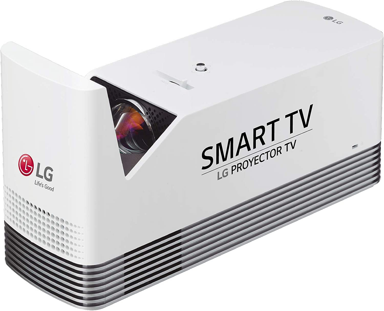wei/ß CineBeam Laser Full HD Projektor LG Electronics Beamer HF80LS Andante 2.0 bis 304,8 cm 120 Zoll 2000 Lumen, Bluetooth Sound, Laser 20000 hrs