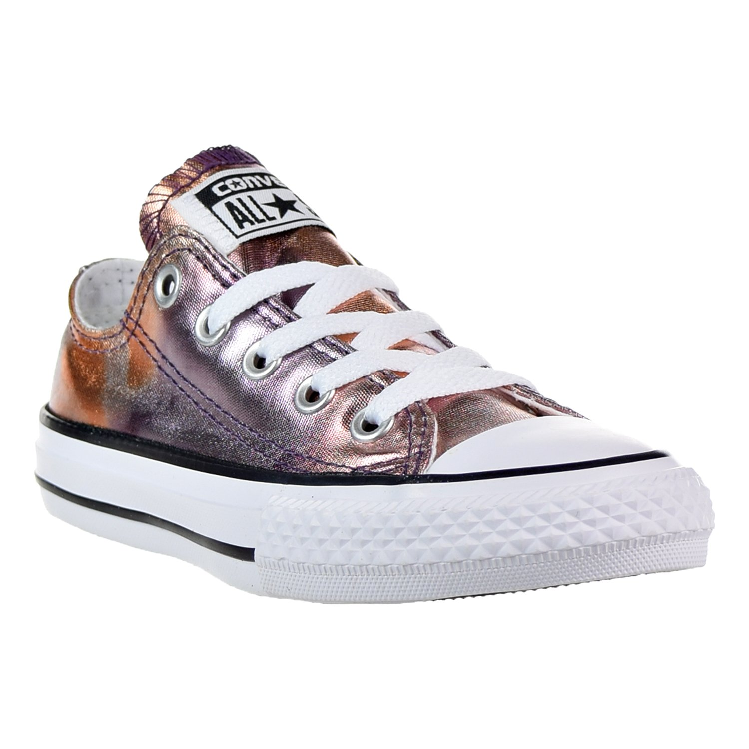 d77e8359505784 Galleon - CONVERSE KIDS ALL STAR LOW YOUTH DUSK PINK WHITE BLACK SIZE 11.5
