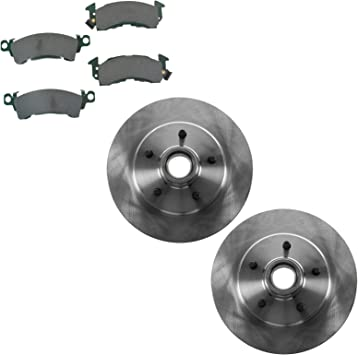 Brake Rotor /& Ceramic Pad Front Kit for Chevy Astro GMC Safari