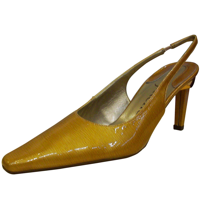 J. Renee Women's Jordan Dark Marigold Stylish Pointed Toe Shoes 7