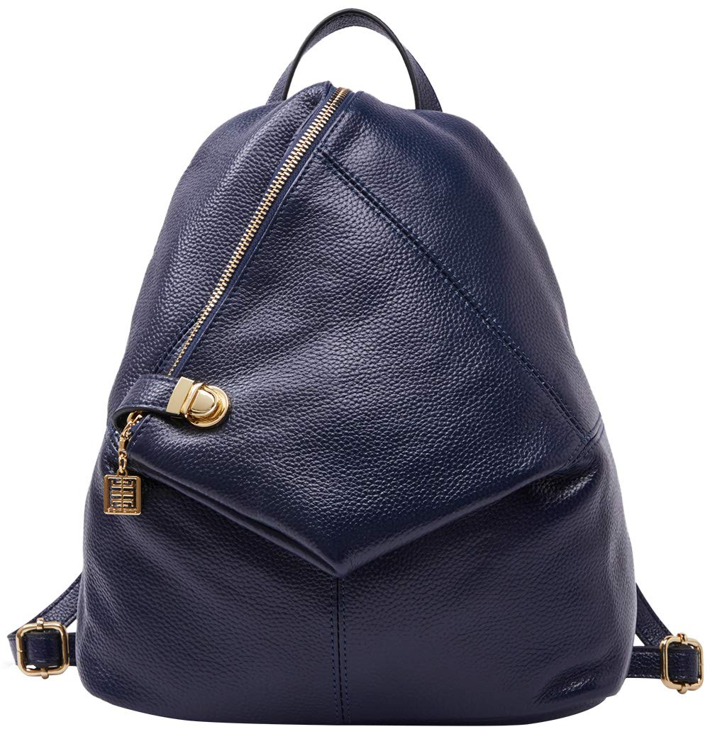 BOYATU Genuine Leather Backpack for Women Fashion Ladies Purse Anti Theft Bag