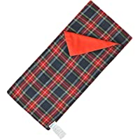 E-TING Sleeping Bag Tradition Festival Accessory for The Shelf Dolls (Doll is not Included) (Red-Blue Plaid)