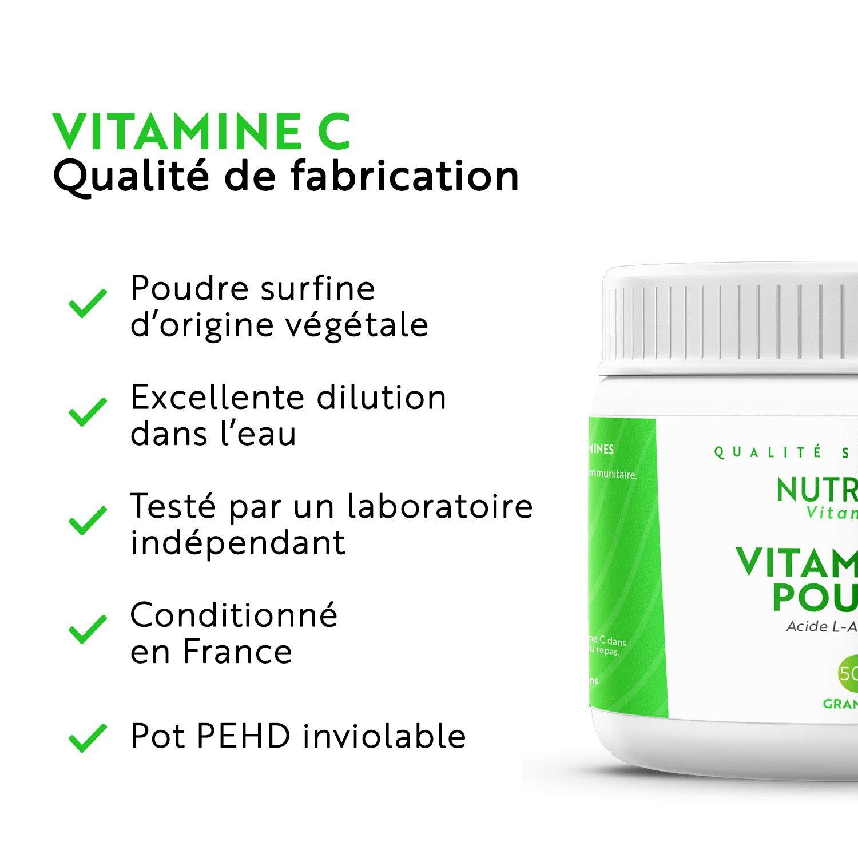 Acido Ascorbico / Vitamina C en Polvo puro: Amazon.es: Salud y cuidado personal