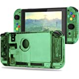 BASSTOP [Update Version] DIY Replacement Housing Shell Case Set for Switch NS NX Console and Right Left Switch Joy-Con…