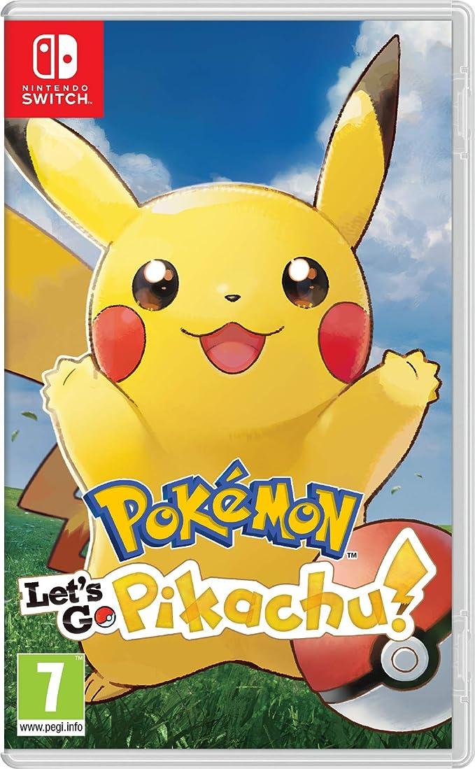 Pokémon: Let's Go, Pikachu! - Nintendo Switch [Importación inglesa]
