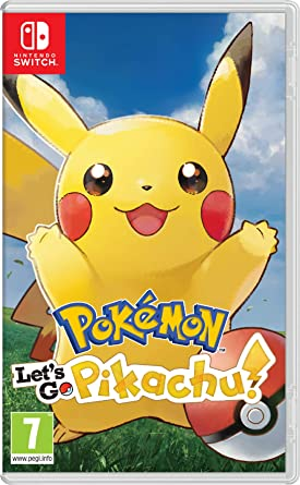 Pokémon: Let's Go, Pikachu! (Nintendo Switch): Amazon co uk: PC