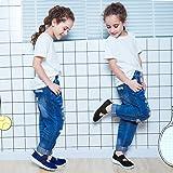 Hawkwell Girl's Slip-on Elastic Cross Strap Fashion