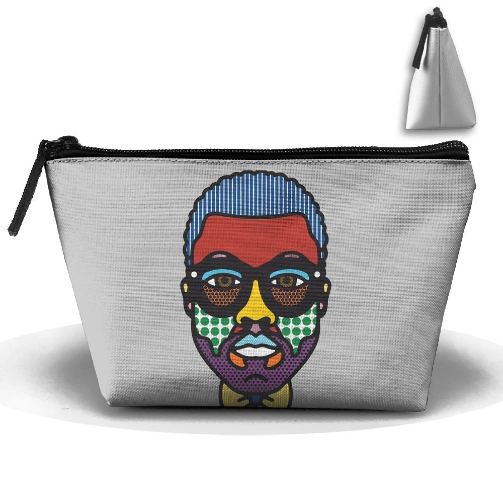 Unisex Stylish And Practical A Funny Man - Contemporary Modern Art Trapezoidal Storage Bags Handbags