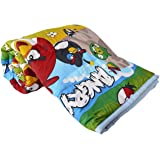 CloudFlash Soft Cartoon Kids Design Print Microfiber Reversible Single Bed, Blanket, AC Dohar for boy or Girl, Multicolour