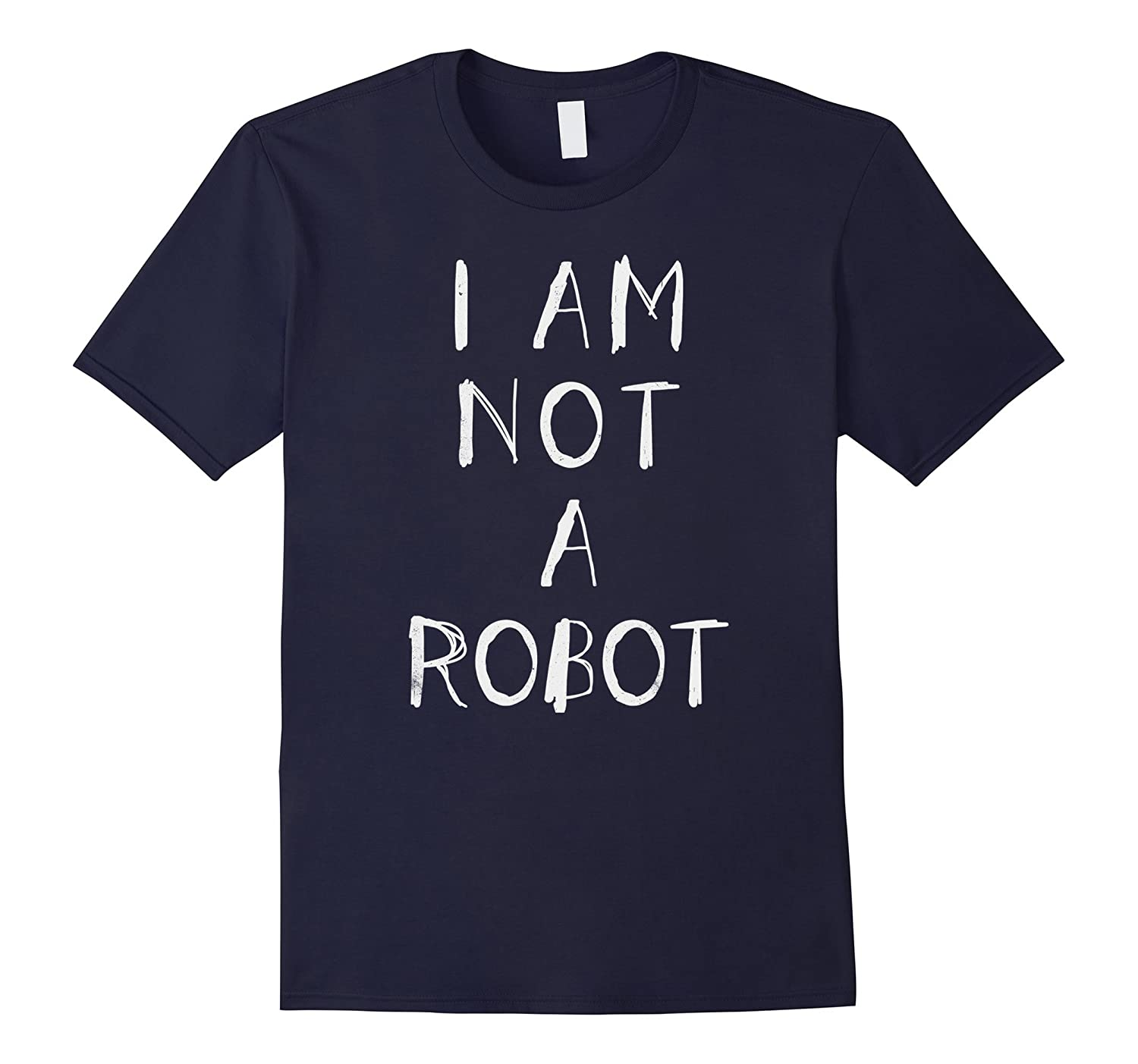 I am not a robot funny web joke humans in cyber space-TD