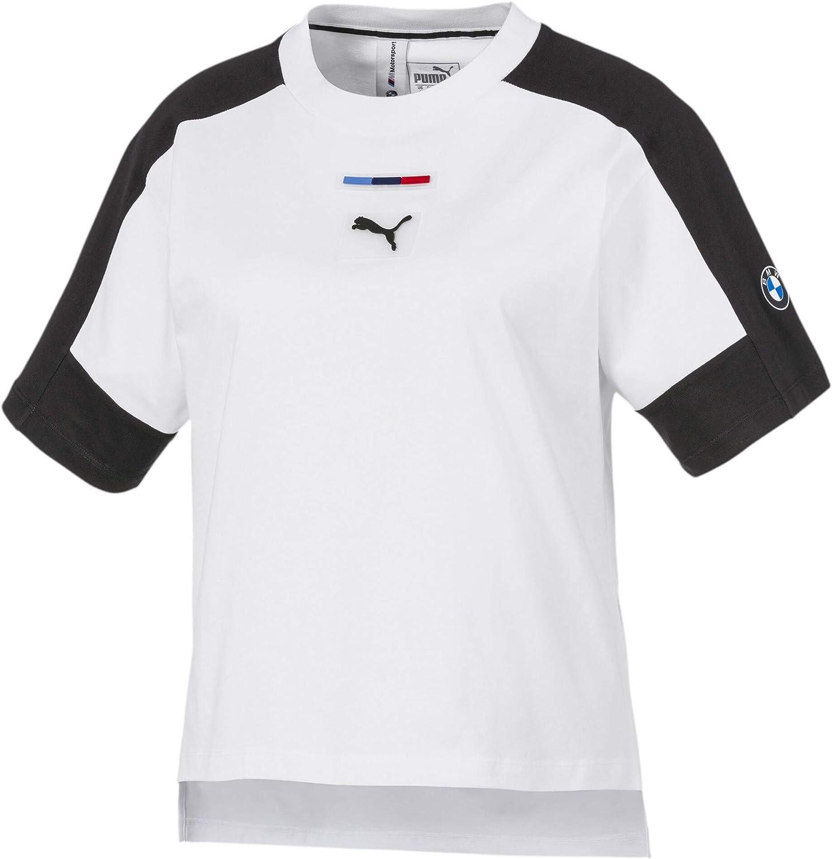 PUMA BMW MMS Wmn Street tee - Camiseta Mujer: Amazon.es: Deportes y aire libre