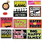 SYGA Set of 12 Funny Wedding Party Photo Booth Props Craft Item