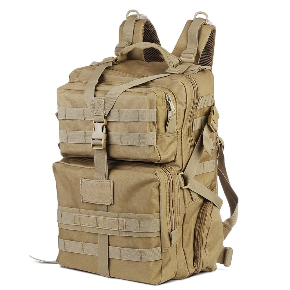 543cb434706a Amazon.com : EISHOW 45L Large Capacity Outdoor Tactical Military Bag ...