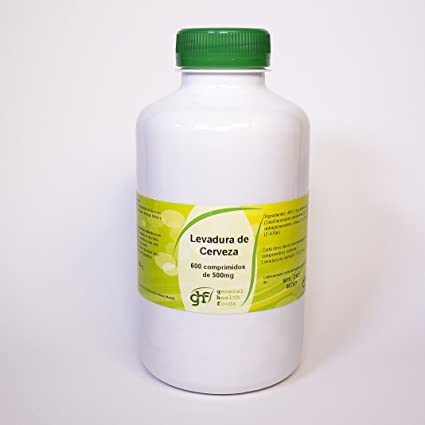 GHF - GHF Levadura de Cerveza 600 comprimidos 500mg