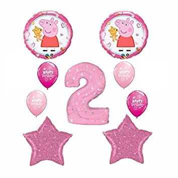 ANAGRAM - Ramo de Globo de Peppa Pig de 2º cumpleaños ...