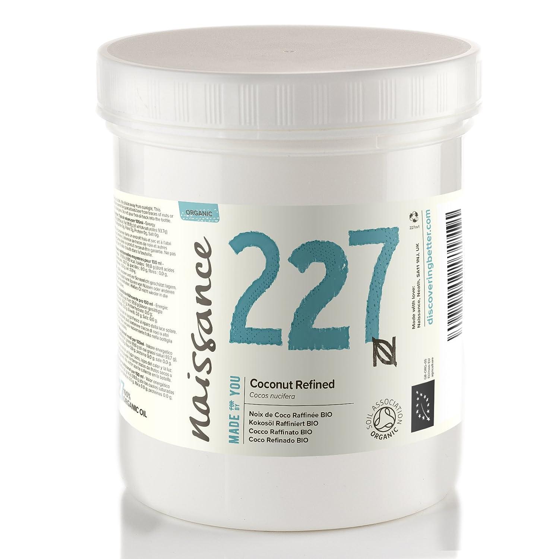 Naissance Coco Refinado BIO Sólido - Aceite Vegetal Prensado en Frío 100% Puro - Certificado Ecológico - 500g