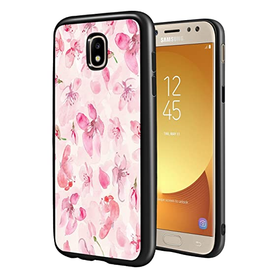 check out 9b437 8fd39 Amazon.com: Samsung Galaxy J5 Pro Cases Floral, POKABOO Girls Unique ...