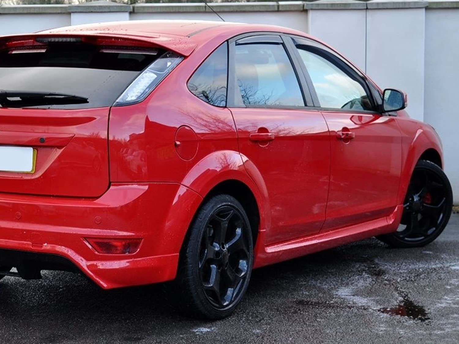 Heko Tinted Acrylic Front and Rear Wind Deflectors 4 Piece Set