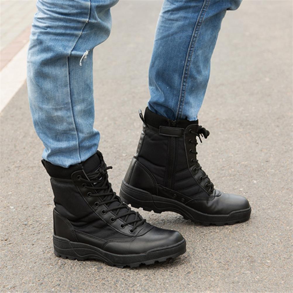 Z&HX Martin stivali alti per aiutare gli uomini e le donne impermeabili del deserto con scarpe da escursionismo di grandi dimensioni , 44