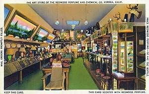 Eureka, California - Redwood Perfume Art Store Interior (16x24 Fine Art Giclee Gallery Print, Home Wall Decor Artwork Poster)