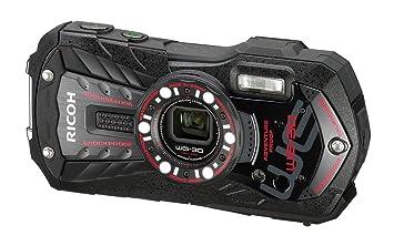 【クリックで詳細表示】<title>Amazon.co.jp: RICOH 防水デジタルカメラ RICOH WG-30 エボニーブラック 防水12m耐ショック1.5m耐&#