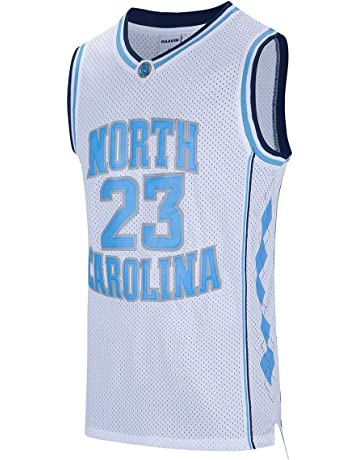 513dafa7ea7 RAAVIN North Carolina 23 Youth Basketball Jersey Retro Athletics Jersey  Kids Basketball Jersey Size S-