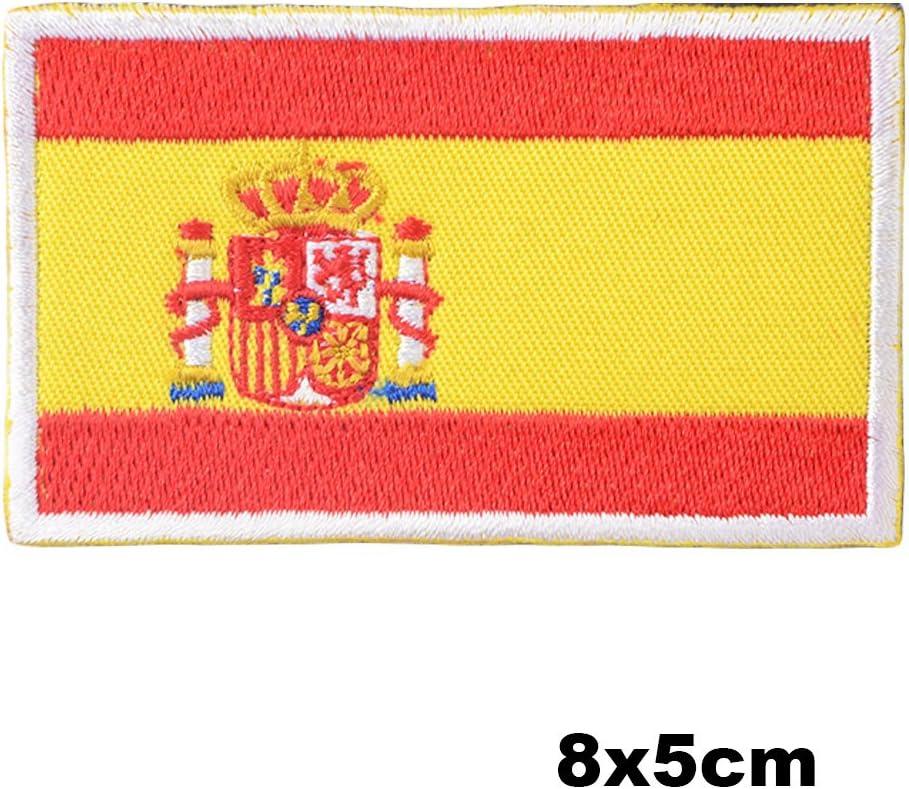 Parche Bordado de bandera de España español bandera nacional ...