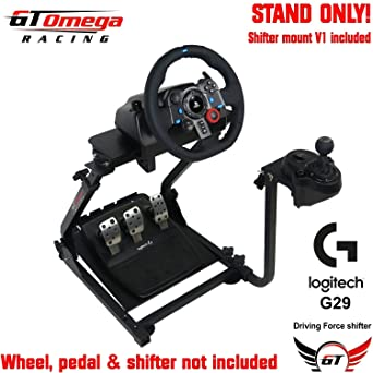 23eaeaae4f1 GT Omega Steering Wheel Stand PRO for Logitech G29 G920 Thrustmaster T500  T300 TX & TH8A