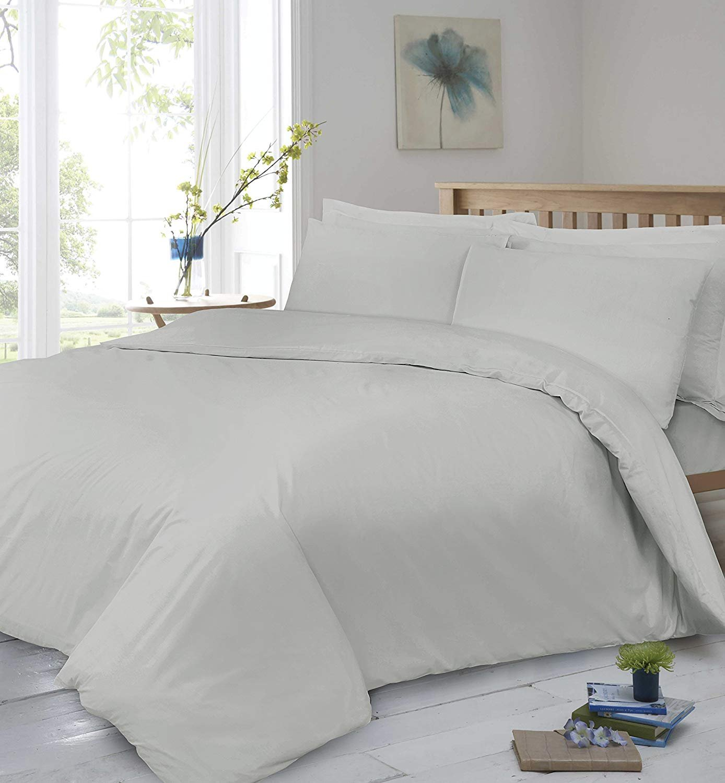 40 cm 100/% Sat/én de Algod/ón Egipcio Beige 2 King Size House Wife Pillow Cases Divine Textiles S/ábana Bajera Ajustable de 400 Hilos Extra Profunda