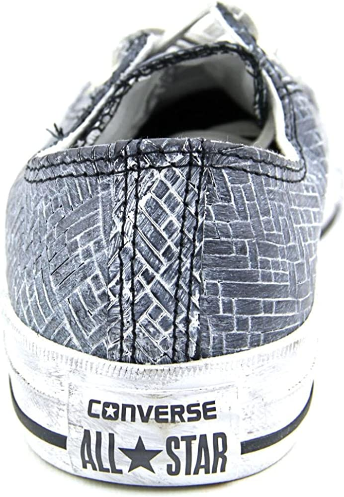 Converse Damen Chuck Taylor OX Leather Black Powder, Größe