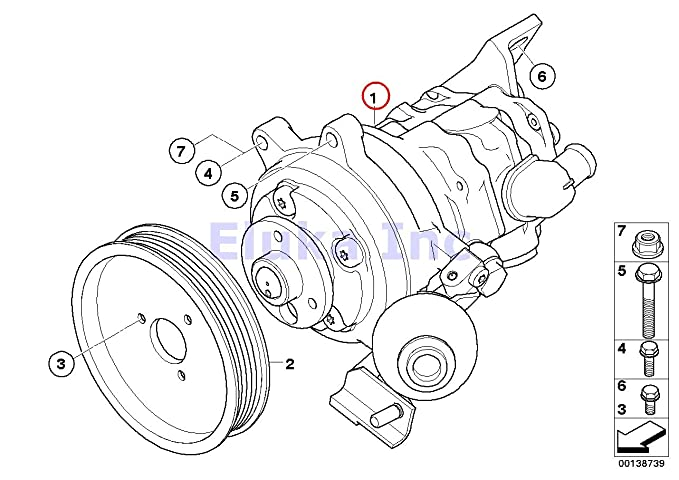 Amazon Com Bmw Genuine Dynamic Drive Active Steering Power Steering