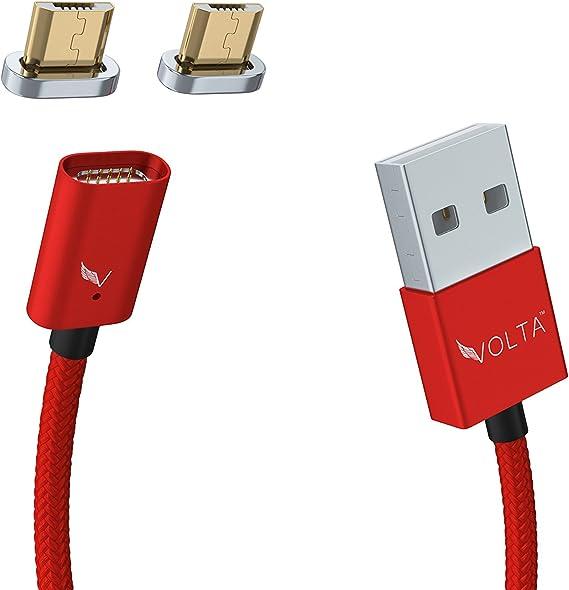 Amazon.com: Volta Cargador Micro USB cargador magnético ...